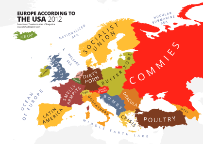 Europe According to Americans [Via]