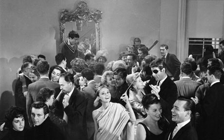 Holly Golightly managed to throw quite a party in a small space with no money.