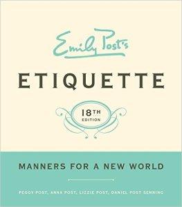 Etiquette